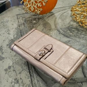 🌹COACH SOFT LEATHER LARGE WALLET
